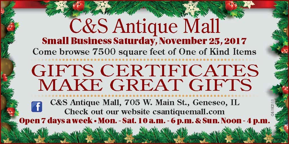 C & S Antique Mall Small Business Saturday