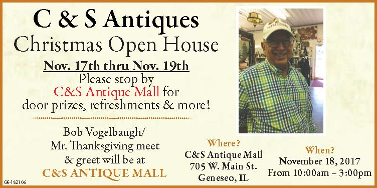 C & S Antique Mall Christmas Open House
